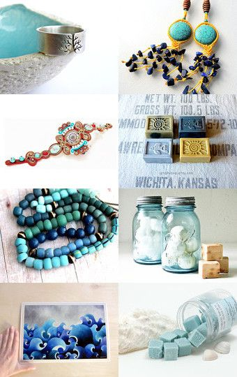 Blue September by Maria on Etsy--Pinned with TreasuryPin.com