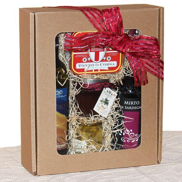 Le Dune, confezione regalo con prodotti tipici sardi - SardinianStore. Prodotti Tipici Sardi