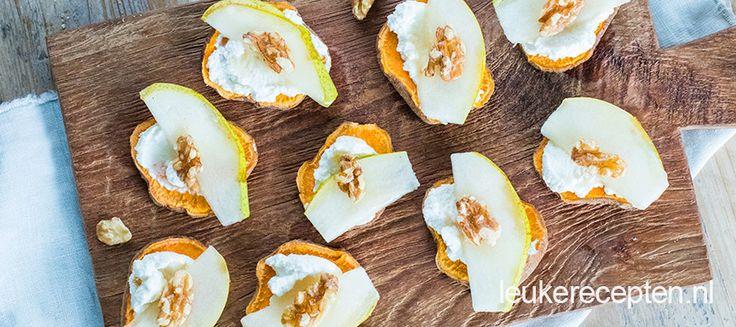 Deze gezonde hapjes zijn een verrassende variant op de klassieke toastjes