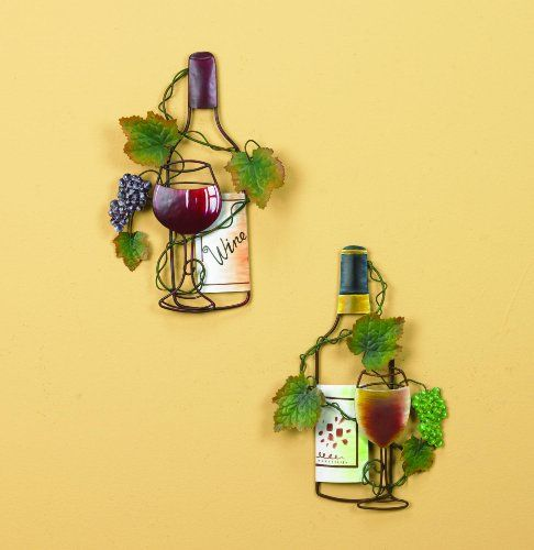Wall Decor Wine Glasses : Best images about wine and grape decor on