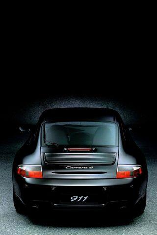 porsche 911 repinned by z carros pinterest black porsche carrera and porsche 911 carrera 4s - Porsche 911 Turbo Wallpaper Iphone