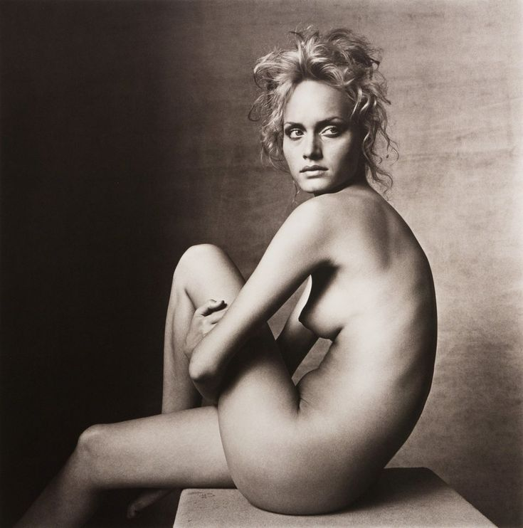 IRVING PENN Amber Valletta (B), New York-1996