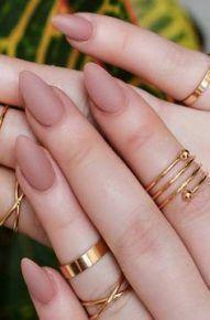 39+ Ideen für Nägel braune ovale Nägel – nails