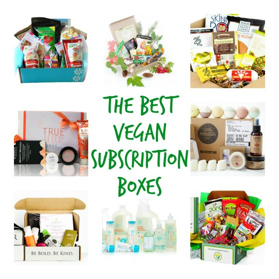 The 8 Best Vegan Subscription Boxes. These are opportunities to try new vegan products (mostly food, beverages, health, and beauty) that save you time (shopping around) and money (buying full size items that you may not like).