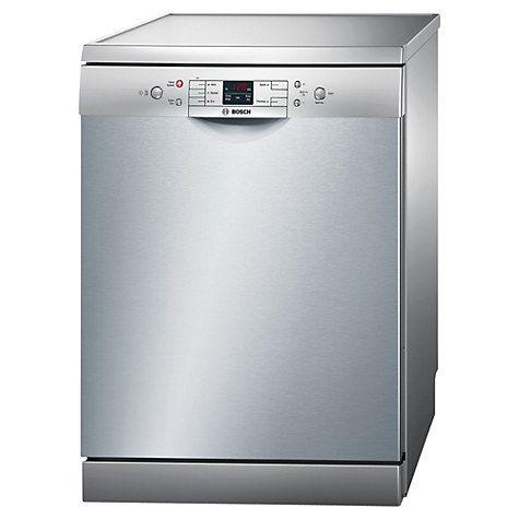 Buy Bosch SMS50M18GB Freestanding Dishwasher, Silver Innox Online at johnlewis.com