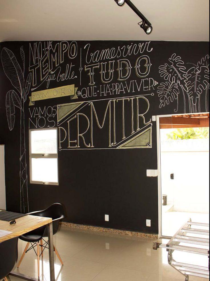 como fazer uma parede lousa parede lousa 29 parede lousa lettering