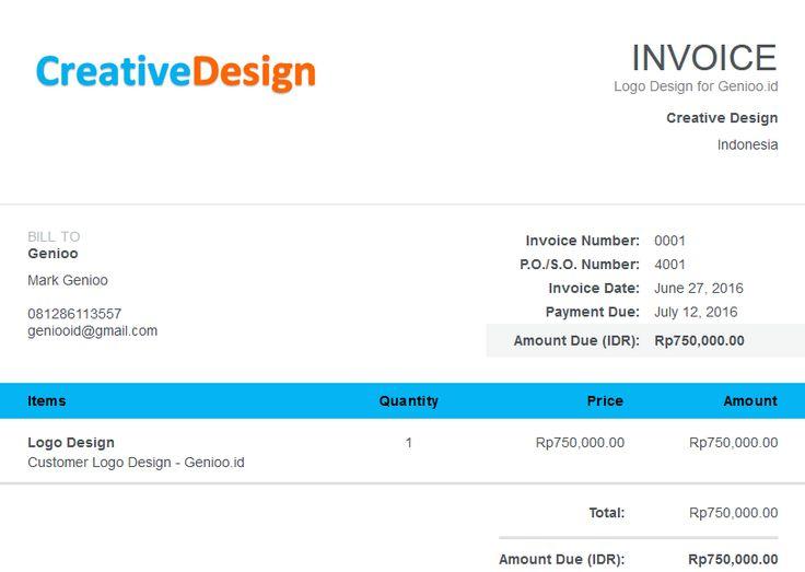 Cara Membuat Invoice Online dengan Aplikasi Wave Accounting - generate an invoice