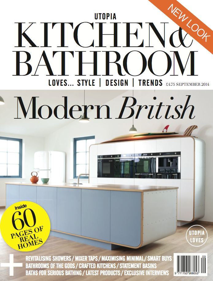 Charmant Our Air Kitchen Has Been Featured On The Front Cover Of Utopia Kitchen U0026 Bathroom  Magazine And It Looks Amazing! We Were Super Happy.