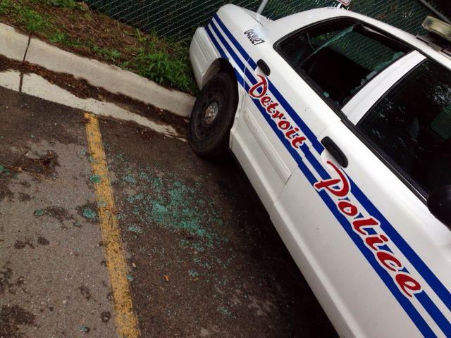 4 Detroit police patrol cars damaged | News  - Home