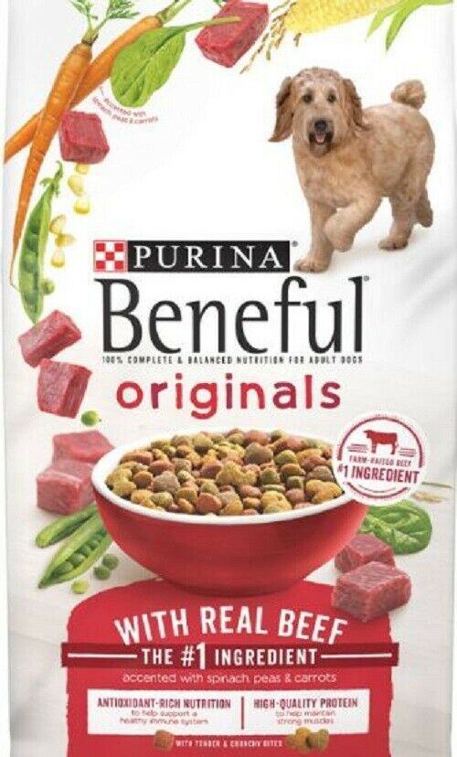 Purina Beneful Originals With Real Salmon Dry Dog Food 15 5 31 1