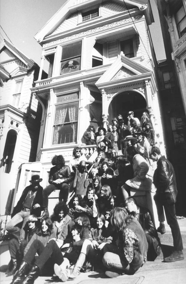 U.S. Grateful Dead & Other S.F. Bands at 710 Ashbury, San Francisco, 1967 // Photo by Gene Anthony