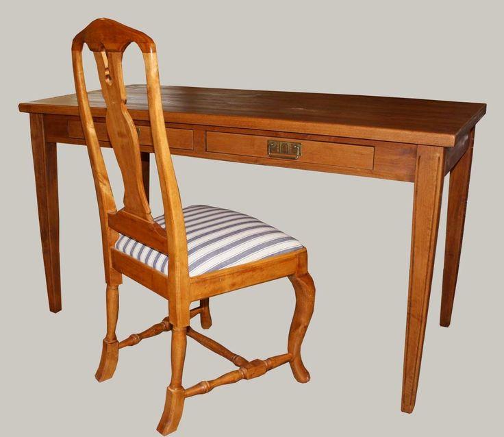 Tervaleppäinen kirjoituspöytä - värin päätät sinä! #sisustus #wooden #table