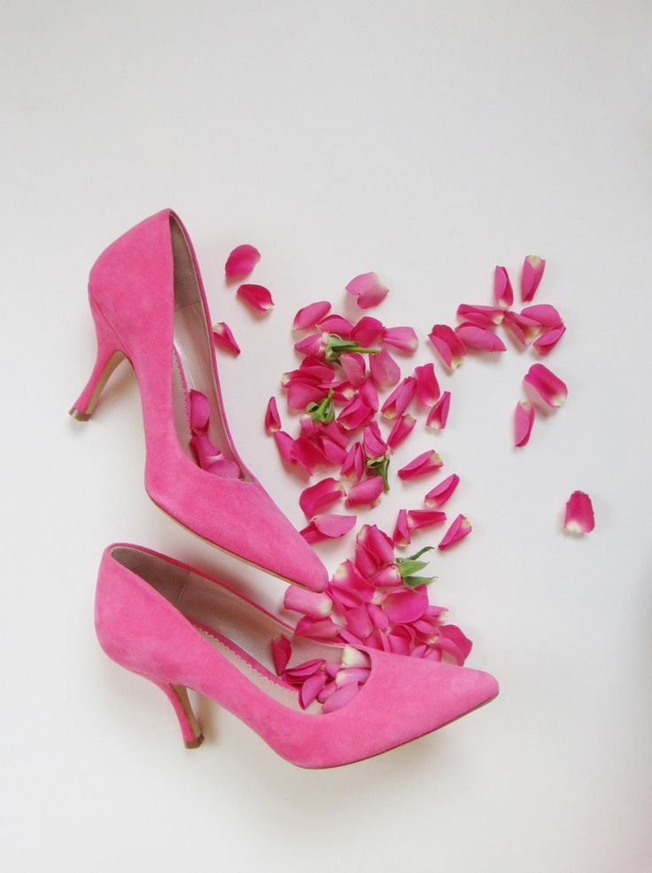 Olivia Peony Pink Court Shoes by Emmy London