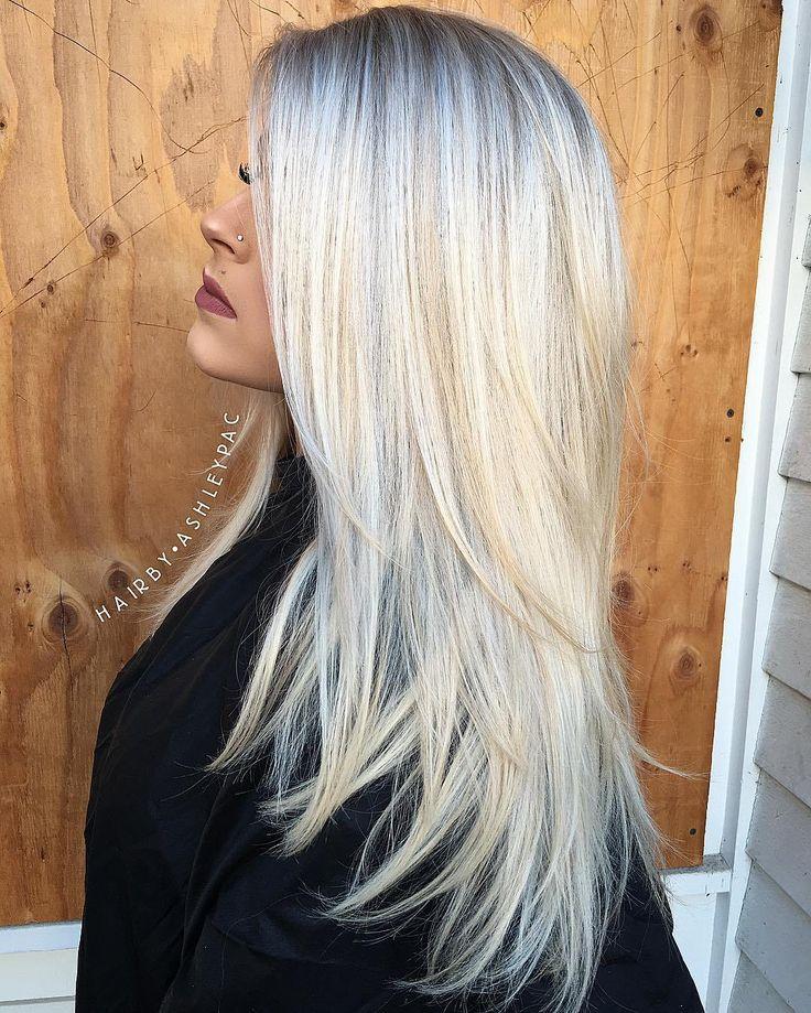 Best 25+ Blonde Layered Hair Ideas On Pinterest
