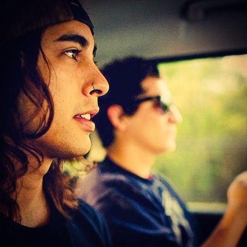 Jaime Preciado and Vic Fuentes