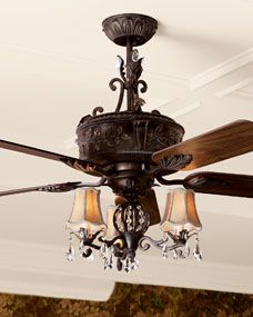 Pinterest the world s catalog of ideas - Ceiling fans chandeliers attached ...