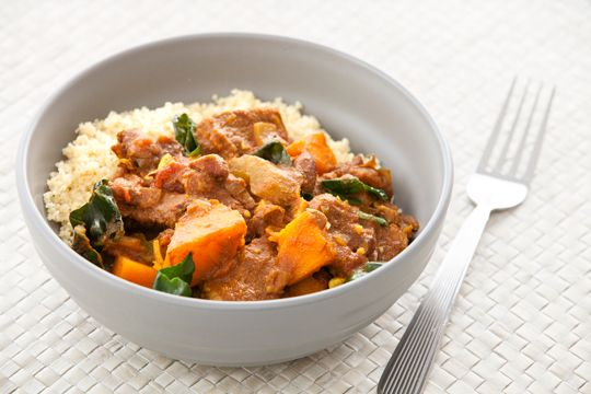 Beef and Pumpkin Tagine