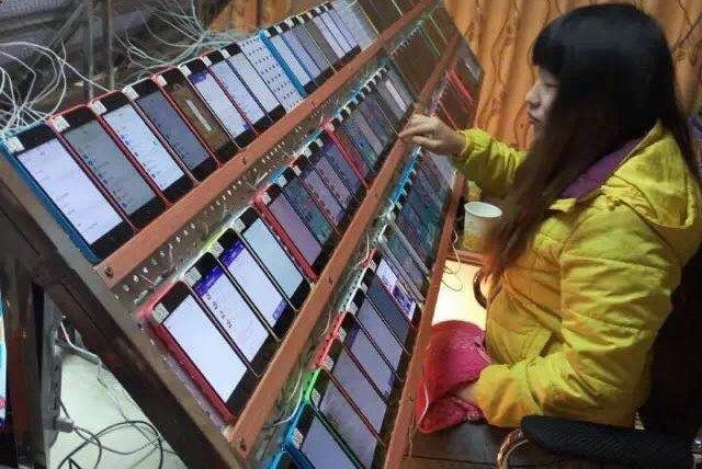 iClarified - Apple News - Viral Photo Shows How Chinese Workers Are Used to Manipulate App Store Rankings #fake #iphone #reviews Phyllip Price Denise Nelson