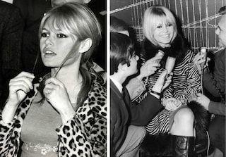 El tapado de leopardo y el vestido de cebra, uno de los favoritos de BB en los 60's