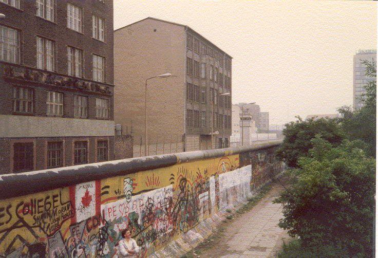Die Mauer, sicherlich alle andere als ein architektonisches Meisterwerk #ddrmuseum