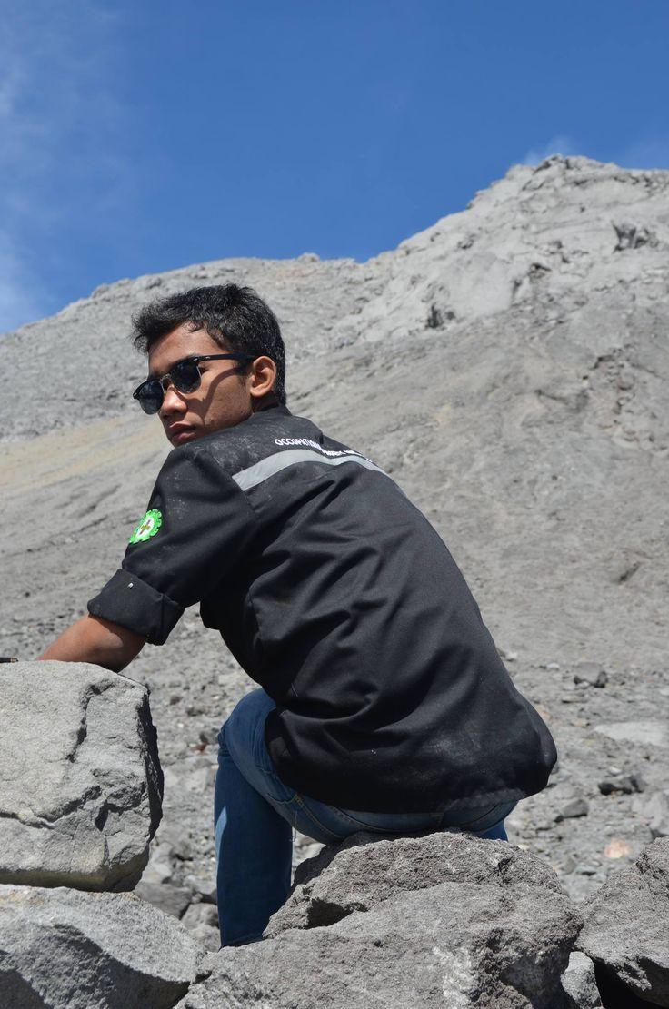 beauty merapi mountain on java island indonesia!!!