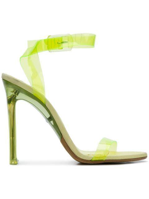 8c635e6d310 Size 38 Yeezy Transparent PVC Sandals - Farfetch