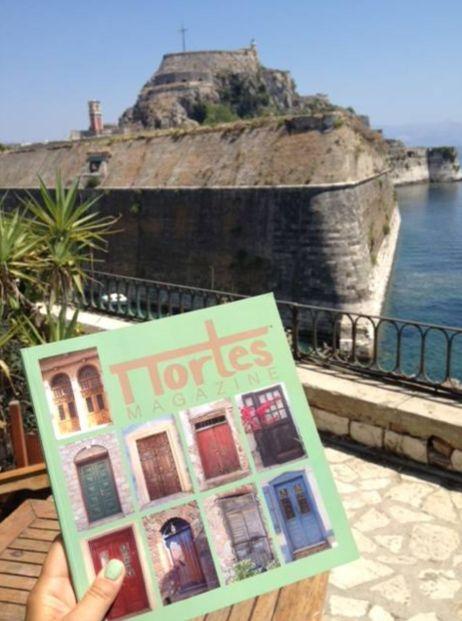 Portes in Corfu.
