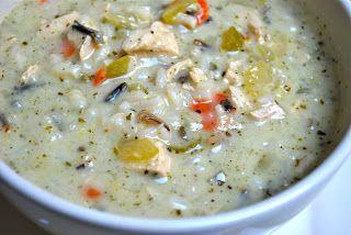 "Copycat Recipe: ""Panera"" Chicken & Wild Rice Soup with ""Olive Garden"" Breadsticks   Carrie's Experimental Kitchen"