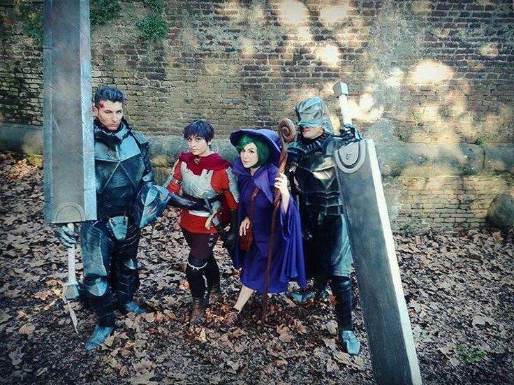 Ph: @/euferis  #italiancosplayers #cosplay #ベルセルク #dragonslayer #casca #caska #berserk #guts #gatsu #gutscosplay #cosplayphotography #armor #luccacomics #luccacomics2016 #berserkmanga #berserkanime #schierke #berserkerarmor #witch #bandofthehawk