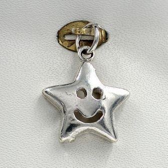 Smiling Star Charm - cha-0314