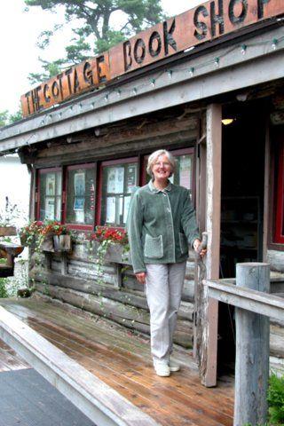 LOVE The Cottage Book Shop in Glen Arbor 5989 Lake Steet  Glen Arbor, Michigan 49636  800-303-6956  231-334-4223  info@cottagebooks.com