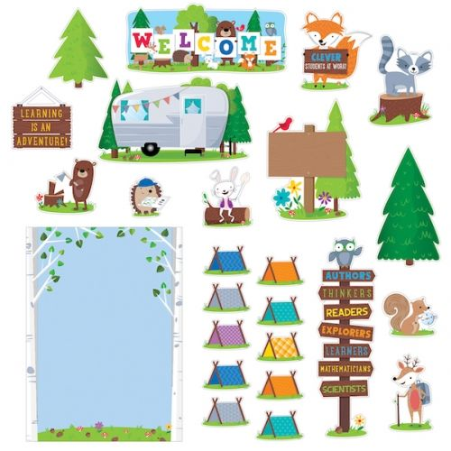 Woodland Friends Woodland Welcome Bulletin Board, CTP7069