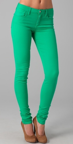 so I always have wear bright pants during the spring & summer seasons but I only have pink and yellow. This one is next :)
