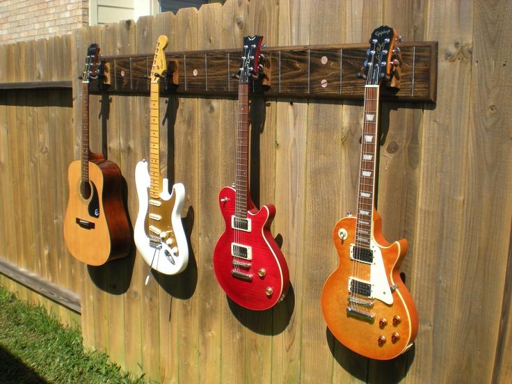 Custom Built Guitar Rack Can Make Any Color Guitarracks