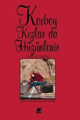 """Vahşi Batı'nın yalnızca kızlar tarafından yürütülen en büyük çiftliğine, Rubber Rose'a hoş geldiniz...    """"Bu o özel romanlardan biri, sihirli, sıcak, komik ve çılgın, yanınıza alıp uzaklara, gün batımlarına gitmek isteyeceğiniz.""""  -Thomas Pynchon-    http://www.idefix.com/kitap/kovboy-kizlar-da-huzunlenir-tom-robbins/tanim.asp?sid=QDIK85TFOK0K0MMR426R"""