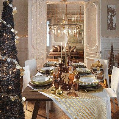 décors, tables, ambiances, réveillon, Noël, décoration, instants, rêve, sélection, neige, ambiance, élégance, rouge, blanc, romantique, nature, étoile, haute couture, mille et une nuits, champêtre, marshmallows, doré