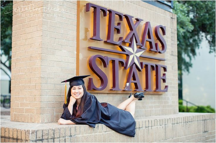 Texas State University Senior Pictures | www.creativeclicksphoto.com
