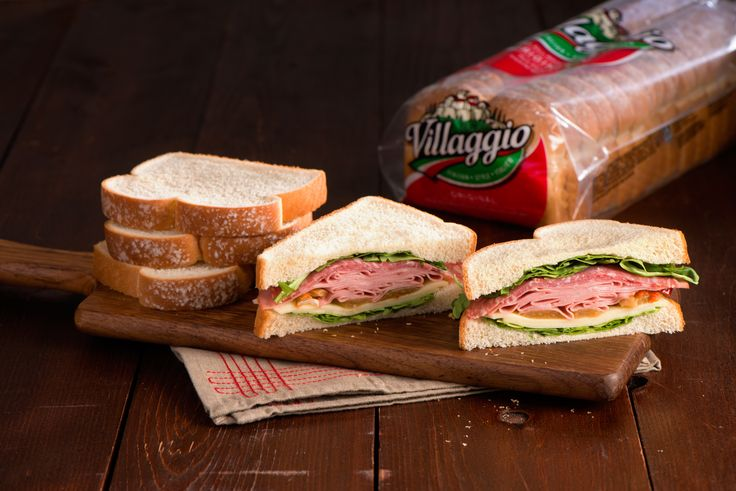 Make this sandwich the night before then it's ready to pack for lunch the next morning!
