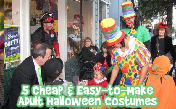 5 Cheap & Easy-to-Make Adult Halloween Costumes - BargainMoose Canada