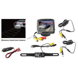 3.5'' Monitor Wireless Back-Up Rearview & Night Vision Camera System