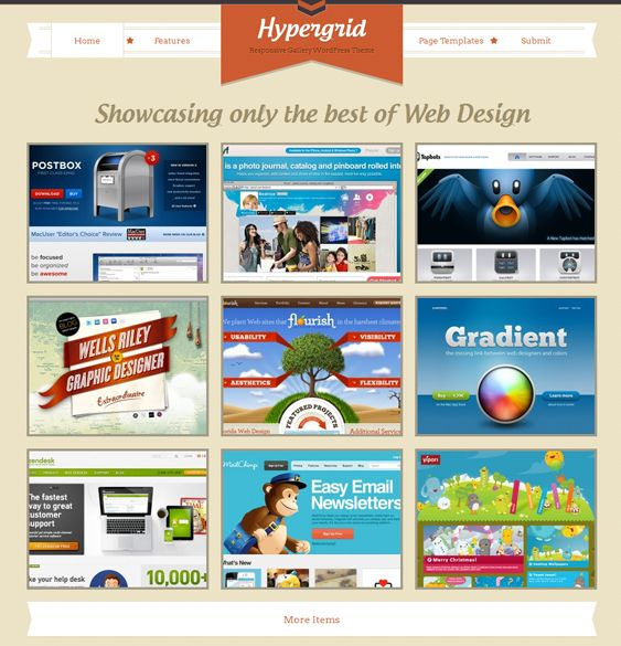 This responsive WordPress template features a filterable gallery, full localisation support, a built-in submission form, contact page, and 404 page, custom backgrounds, post types, and typography, and much more.