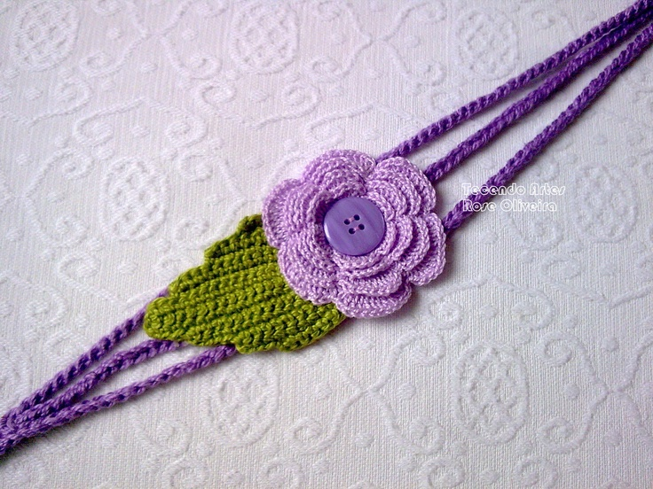 Pin by Becky Hebert on Crochet - Hair Accessories Pinterest