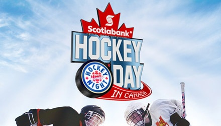 Scotiabank Hockey Day in Canada was held in Whitehorse February 2011.
