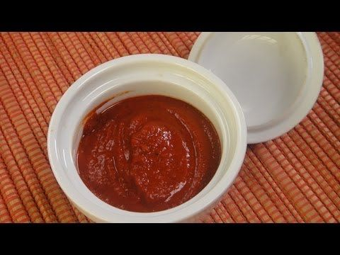 Red chilli n garlic chutney