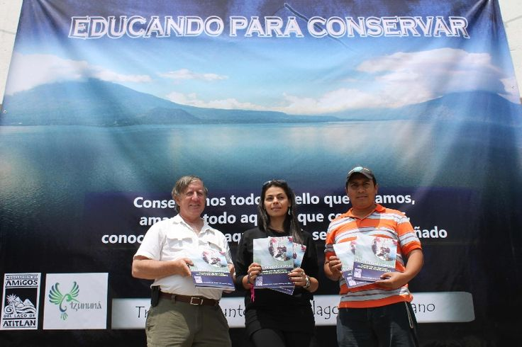 """Desde octubre 2013 hasta abril 2014 ,viendo la necesidad de apoyar el fortalecimiento de la educación ambiental en el nivel básico, Amigos del Lago de Atitlán con el apoyo del proyecto """"Unidos por el Lago Atitlán, del Centro de Estudios Atitlán (CEA) de la Universidad del Valle de Guatemala Altiplano"""", da paso a la  elaboración del Cuadernillo de Ejercicios para el nivel básico."""