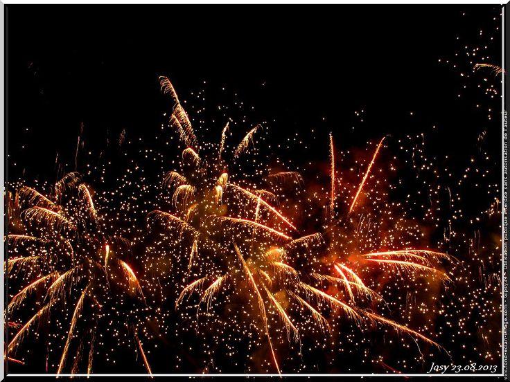 feu d'artifice fete nationale belgique 2015