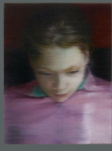 Gerhard Richter ~ Ella, 2007