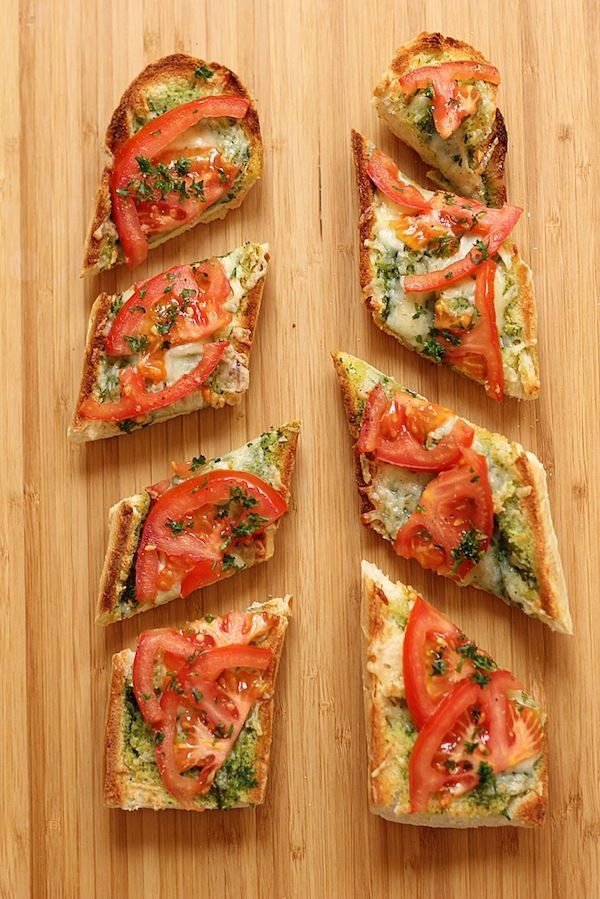 Open Faced Grilled Cheese with Tomato | Green Valley Kitchen