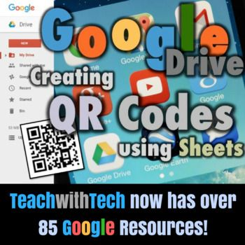 This guide shows teachers and students how to create QR Codes in Google Drive using an add-on for Google Sheets called QR Code Generator • A QR code (Quick Response Code) is a type of matrix barcode first designed for