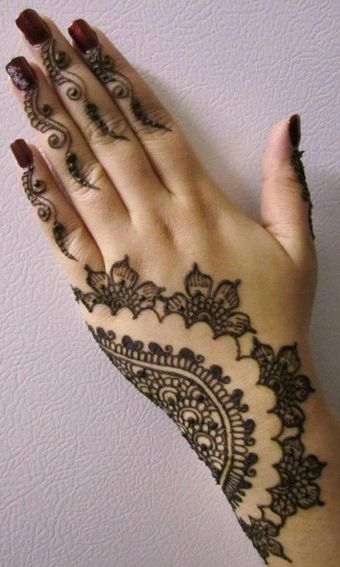 stylish mehndi designs collection - Google Search